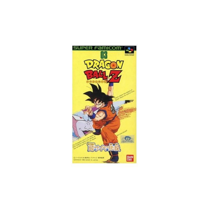 SN DRAGON BALL Z SUPER SAIYA DENSETSU (IMPORT JAP) - Jeux Super NES au prix de 29,95€