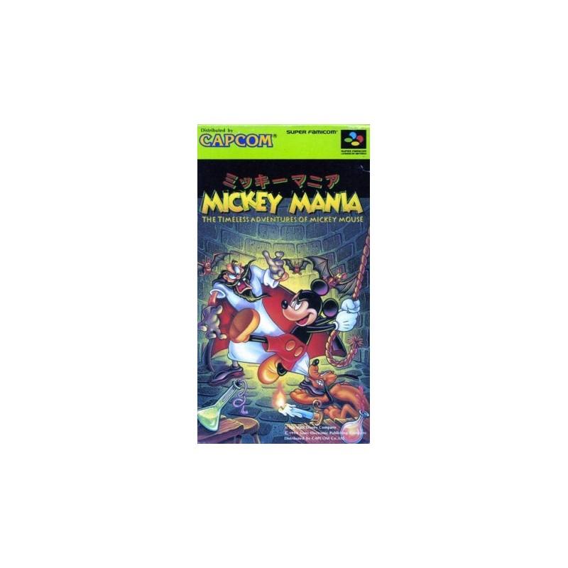 SN MICKEY MANIA (IMPORT JAP) - Jeux Super NES au prix de 24,95€
