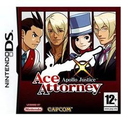 DS ACE ATTORNEY APOLLO JUSTICE - Jeux DS au prix de 34,95€