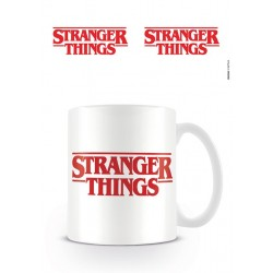 MUG STRANGER THINGS LOGO ROUGE ET BLANC 315ML - Mugs au prix de 9,95€