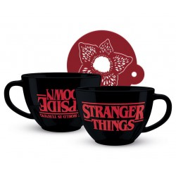 MUG STRANGER THINGS UPSIDE DOWN 630ML - Mugs au prix de 14,95€
