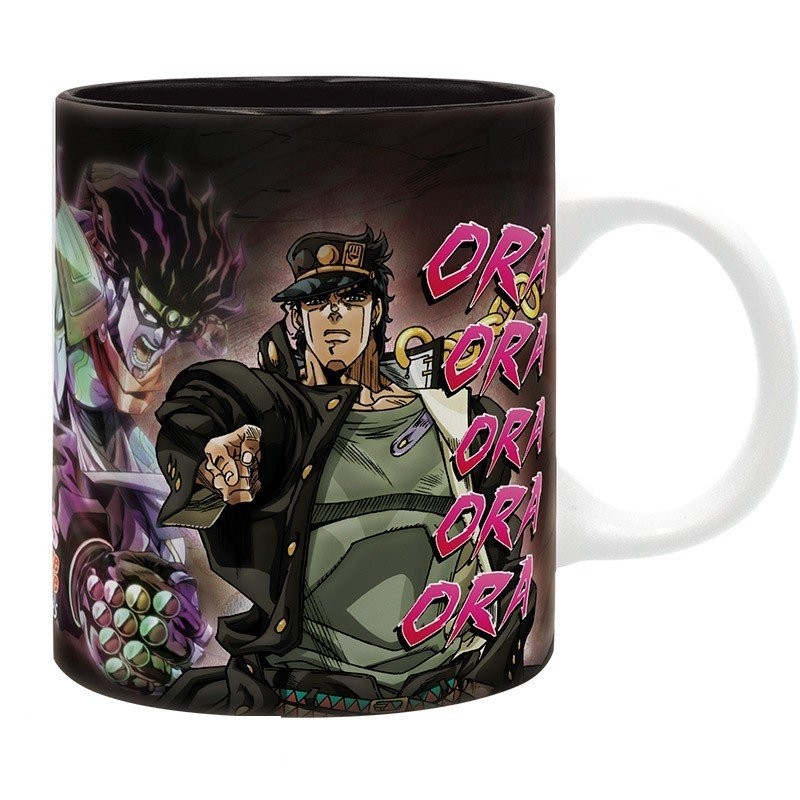 MUG JOJO BIZARRE ADVENTURE JOTARO ORA 300ML - Mugs au prix de 9,95€