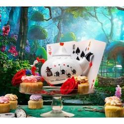 THEIERE DISNEY ALICE AU PAYS DES MERVEILLES REINE DES COEURS - Mugs au prix de 29,95€