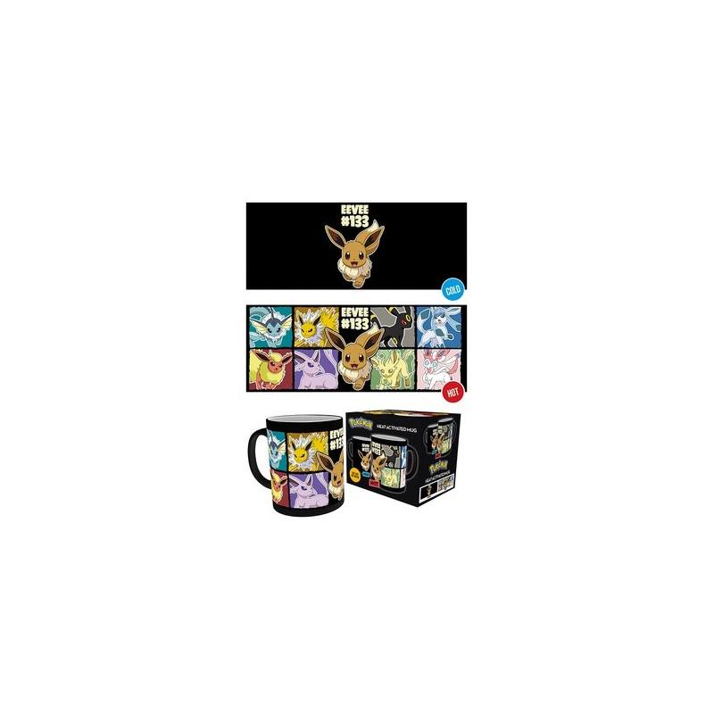 MUG THERMOREACTIF POKEMON EVOLI EVOLUTIONS 300ML - Mugs au prix de 12,95€