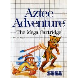 MS AZTEC ADVENTURE (SANS NOTICE) - Jeux Master System au prix de 4,95€