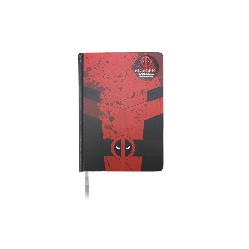 CARNET DEADPOOL NOTEBOOK A5 - Papeterie au prix de 9,95€