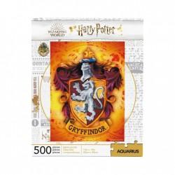 PUZZLE HARRY POTTER GRYFFONDOR 500 PIECES - Puzzles & Jouets au prix de 11,95€