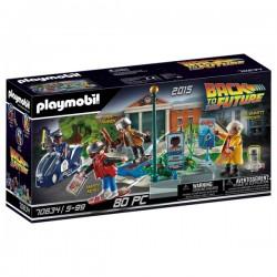 PLAYMOBIL RETOUR VERS LE FUTUR SCENE PART II - Puzzles & Jouets au prix de 39,95€