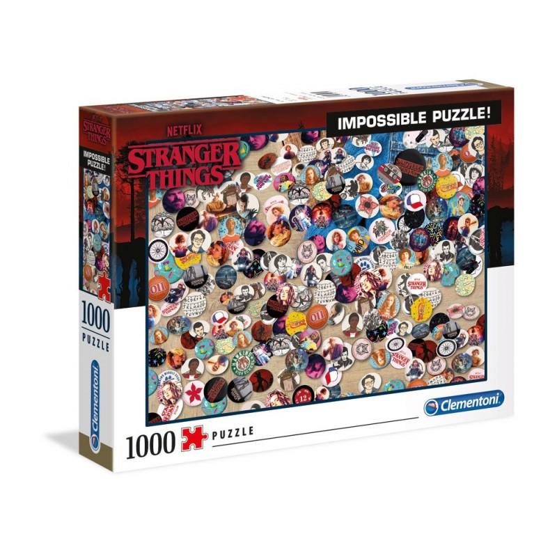 PUZZLE STRANGER THINGS IMPOSSIBLE BUTTONS 1000 PIECES - Puzzles & Jouets au prix de 14,95€