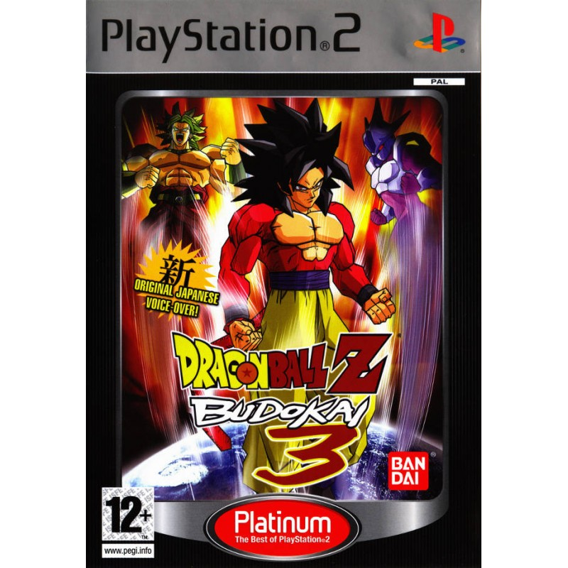 PS2 DRAGON BALL Z BUDOKAI 3 (PLATINUM) - Jeux PS2 au prix de 7,95€
