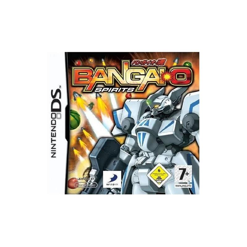 DS BANGAI O SPIRITS - Jeux DS au prix de 9,95€