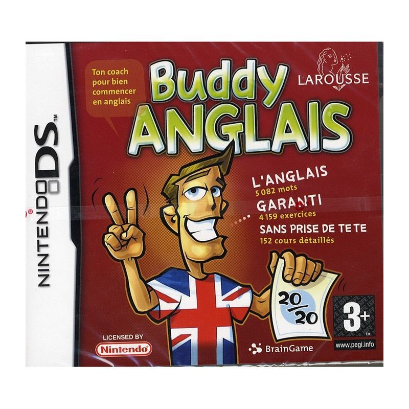 DS BUDDY ANGLAIS - Jeux DS au prix de 2,95€