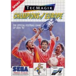 MS CHAMPIONS OF EUROPE - Jeux Master System au prix de 4,95€