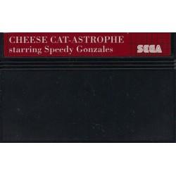MS CHEESE CAT ASTROPHE STARRING SPEEDY GONZALES (LOOSE) - Jeux Master System au prix de 9,95€