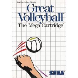 MS GREAT VOLEYBALL (SANS NOTICE) - Jeux Master System au prix de 4,95€