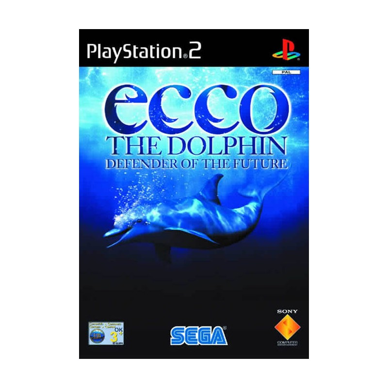 PS2 ECCO THE DOLPHIN DEFENDER OF THE FUTURE - Jeux PS2 au prix de 12,95€