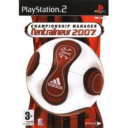 PS2 ENTRAINEUR 2007 CHAMPIONSHIP MANAGER - Jeux PS2 au prix de 6,95€