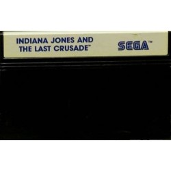 MS INDIANA JONES AND THE LAST CRUSADE (LOOSE) - Jeux Master System au prix de 2,95€