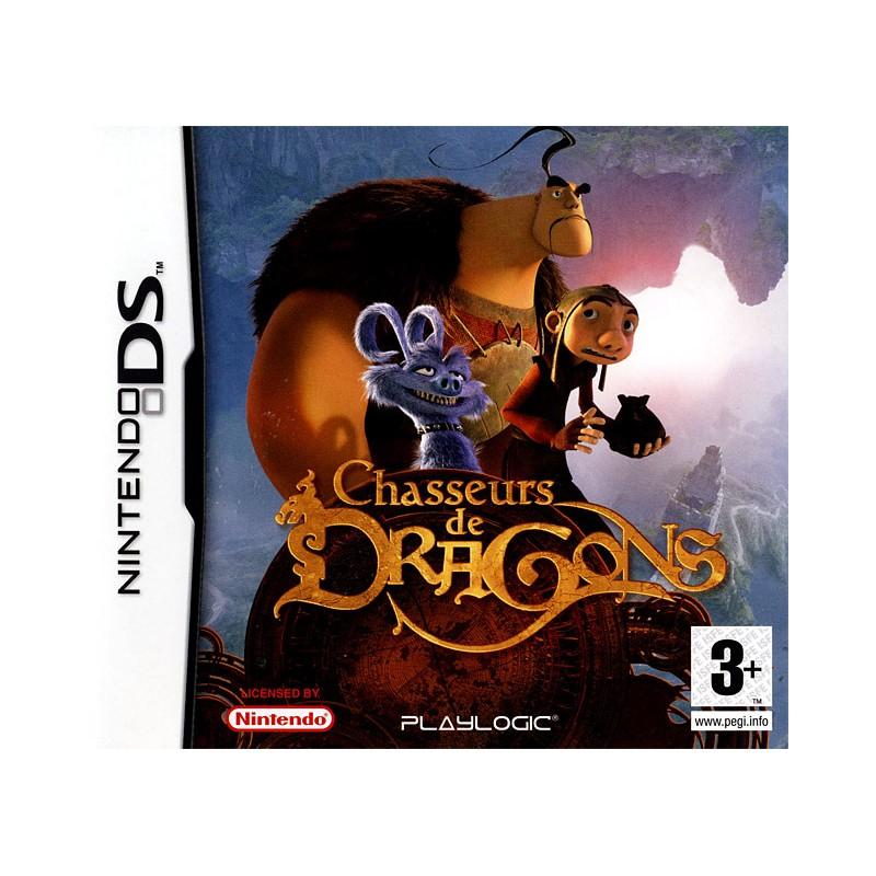 DS CHASSEURS DE DRAGONS - Jeux DS au prix de 7,95€