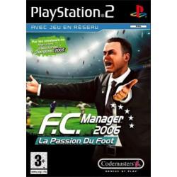 PS2 FC MANAGER 2006 - Jeux PS2 au prix de 2,95€