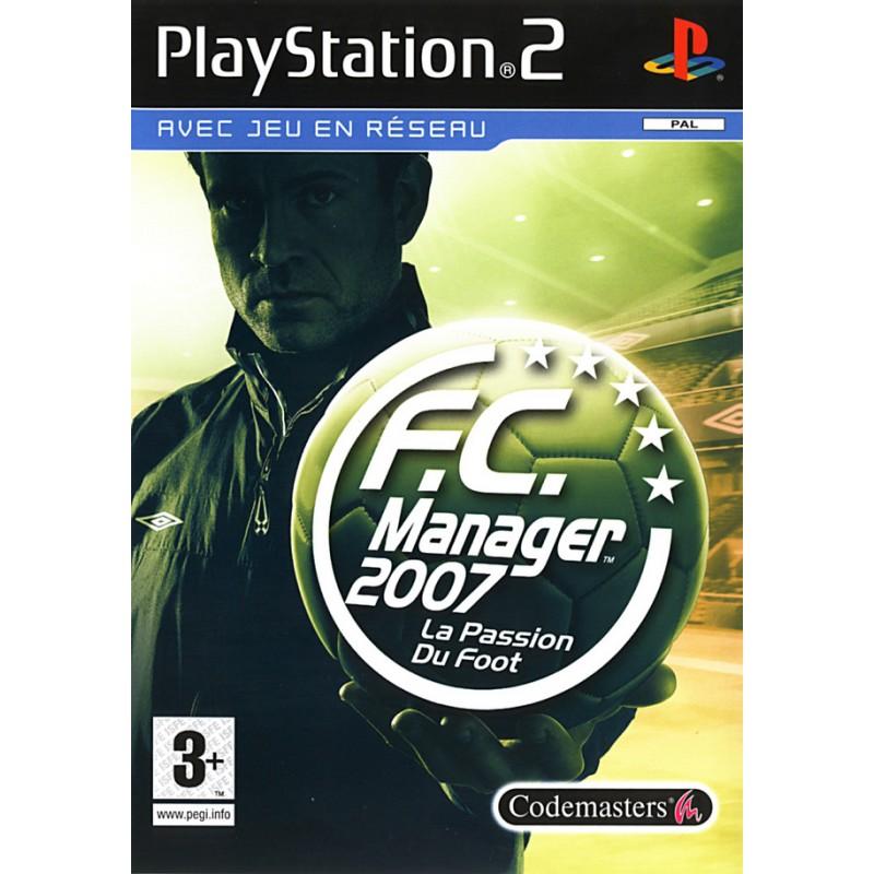 PS2 FC MANAGER 2007 - Jeux PS2 au prix de 1,95€