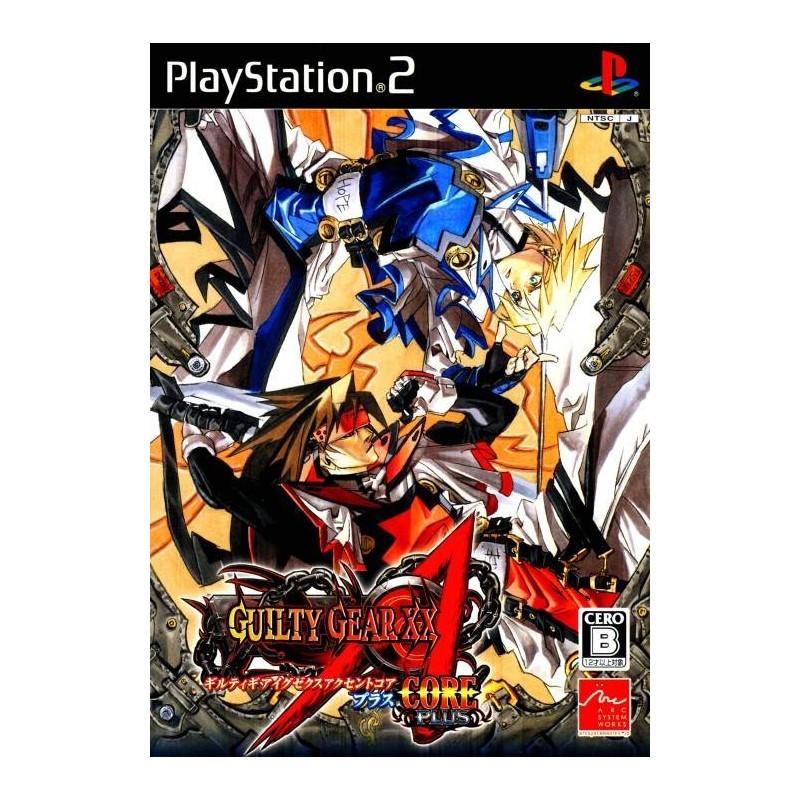 PS2 GUILTY GEAR XX ACCENT CORE PLUS (IMPORT JAP) - Jeux PS2 au prix de 29,95€