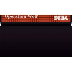 MS OPERATION WOLF (LOOSE) - Jeux Master System au prix de 2,95€