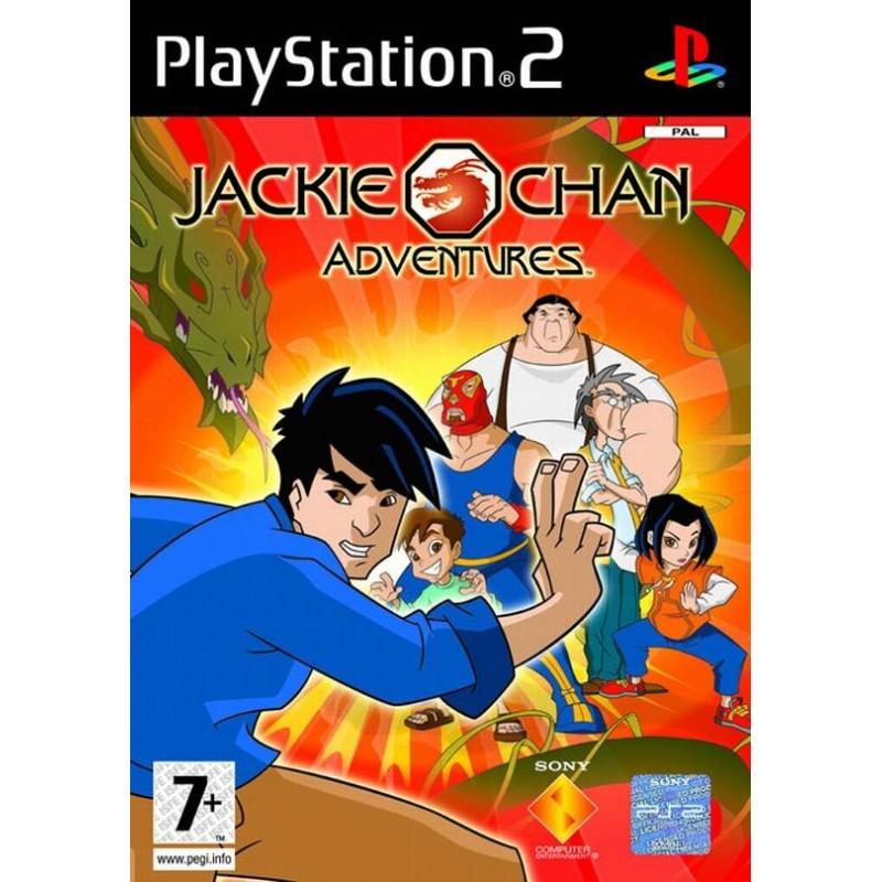 PS2 JACKIE CHAN ADV. - Jeux PS2 au prix de 6,95€
