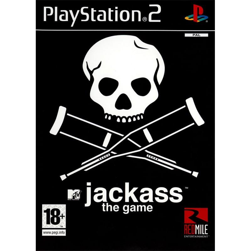 PS2 JACKASS THE GAME - Jeux PS2 au prix de 5,95€