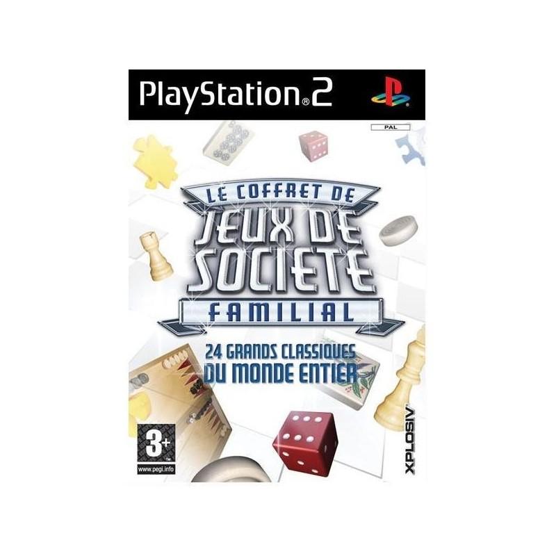 PS2 JEUX DE SOCIETE FAMILIAL - Jeux PS2 au prix de 7,95€