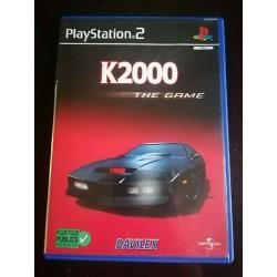 PS2 K2000 THE GAME - Jeux PS2 au prix de 2,95€