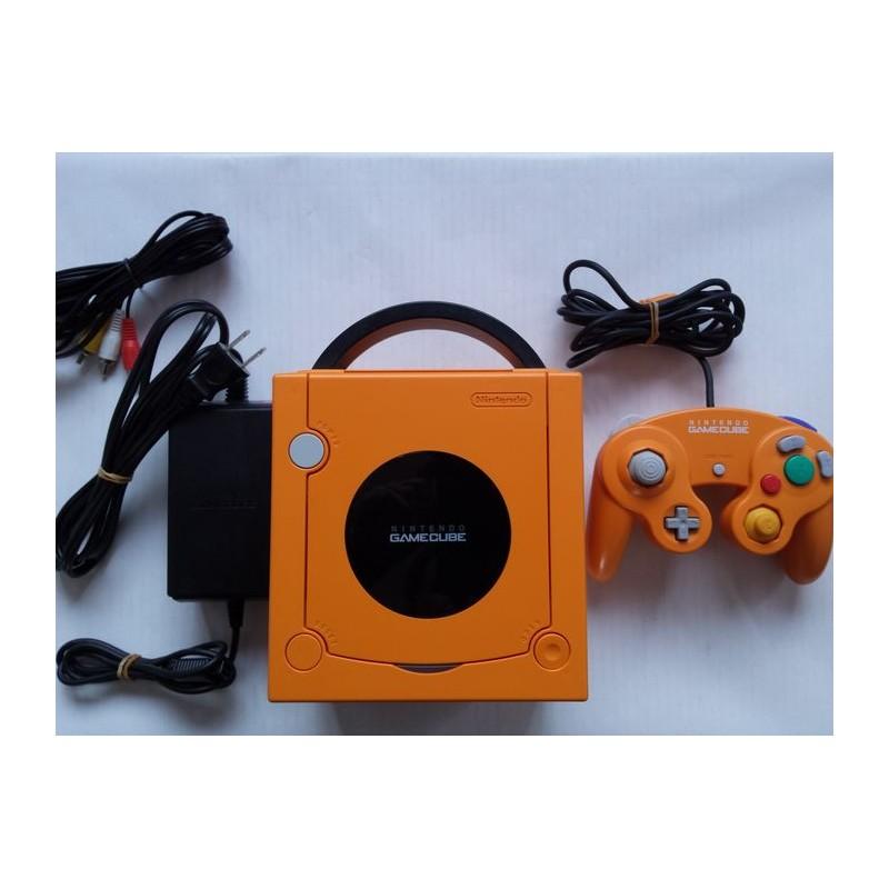 CONSOLE GAMECUBE ORANGE (IMPORT JAP) - Consoles GameCube au prix de 149,95€