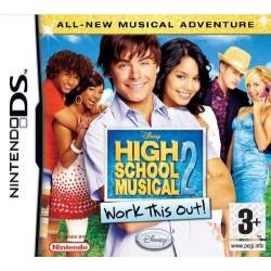 DS HIGH SCHOOL MUSICAL 2 - Jeux DS au prix de 6,95€