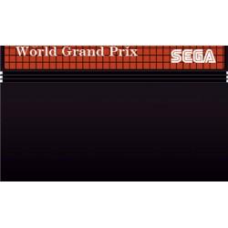 MS WORLD GRAND PRIX (LOOSE) - Jeux Master System au prix de 0,95€