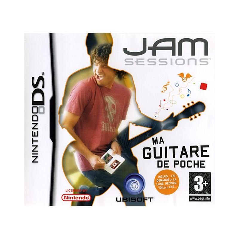 DS JAM SESSIONS GUITARE DE POCHE - Jeux DS au prix de 6,95€