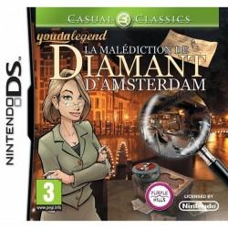 DS LA MALEDICTION DE DIAMANT D AMSTERDAM - Jeux DS au prix de 14,95€