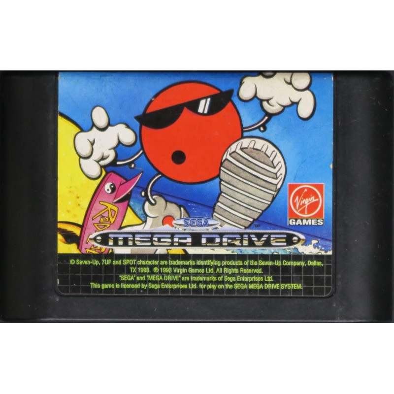 MD COOL SPOT (LOOSE) - Jeux Mega Drive au prix de 3,95€