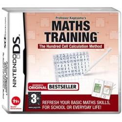 DS MATHS TRAINING - Jeux DS au prix de 1,95€