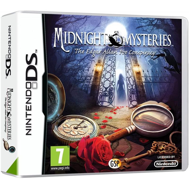 DS MIDNIGHT MYSTERIES THE EDGAR ALLAN PIE CONSPIRACY - Jeux DS au prix de 9,95€