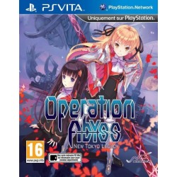 PSV OPERATION ABYSS NEW TOKYO LEGACY - Jeux PS Vita au prix de 19,95€