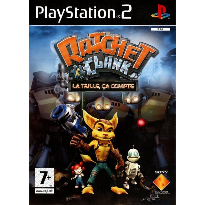 PS2 RATCHET ET CLANK LA TAILLE CA COMPTE - Jeux PS2 au prix de 9,95€