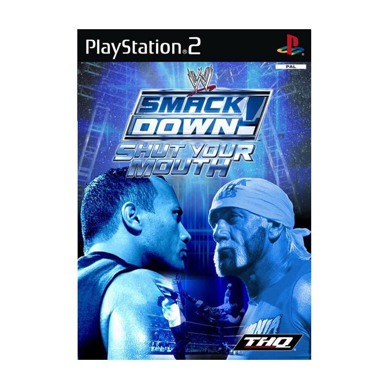 PS2 WWE SMACKDOWN SHUT YOUR MOUTH - Jeux PS2 au prix de 3,95€