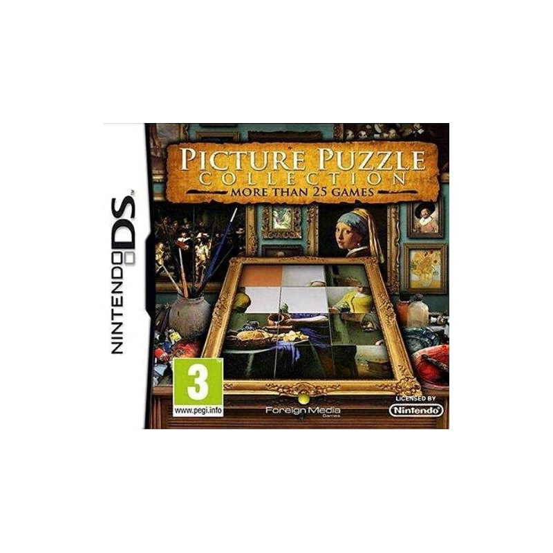 DS PICTURE PUZZLE COLLECTION - Jeux DS au prix de 14,95€