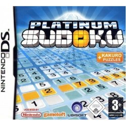 DS PLATINUM SUDOKU - Jeux DS au prix de 19,95€