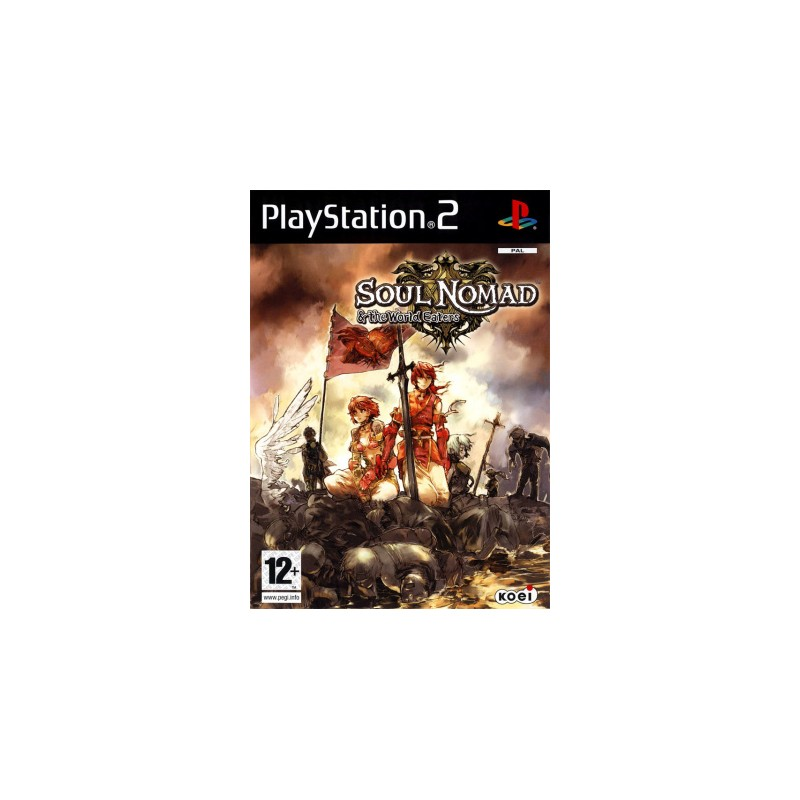PS2 SOUL NOMAD AND THE WORLD EATERS - Jeux PS2 au prix de 36,95€