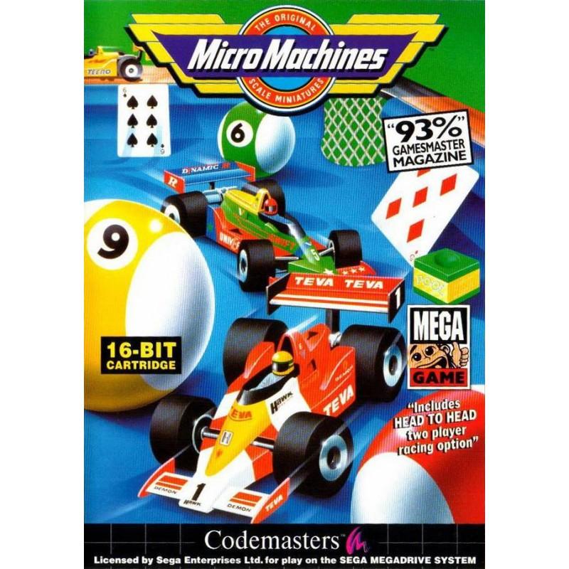 MD MICRO MACHINES - Jeux Mega Drive au prix de 9,95€
