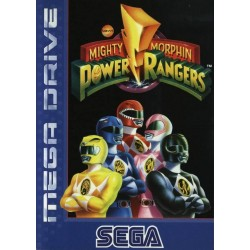 MD MIGHTY MORPHIN POWER RANGERS (SANS NOTICE) - Jeux Mega Drive au prix de 14,95€