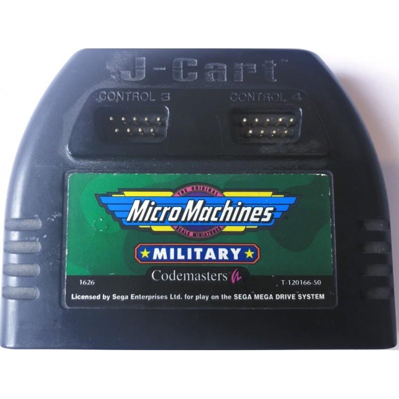 MD MICRO MACHINES MILITARY (BN) - Jeux Mega Drive au prix de 14,95€