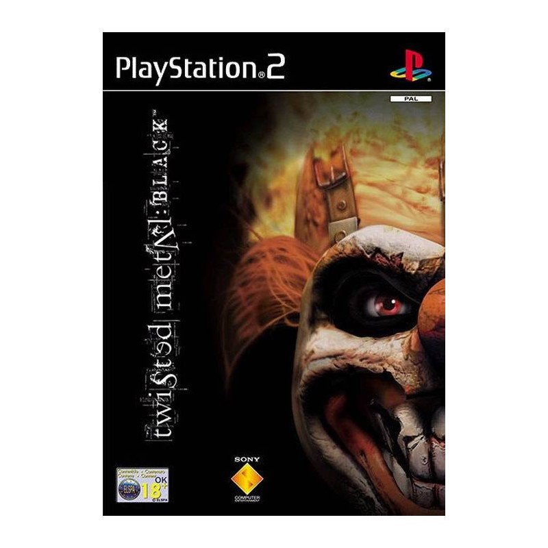 PS2 TWISTED METAL BLACK - Jeux PS2 au prix de 4,95€