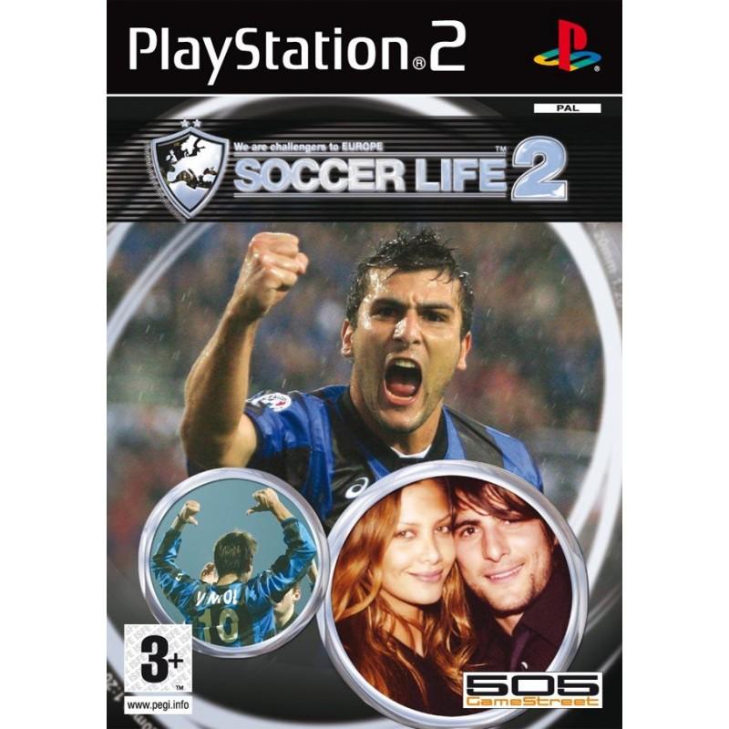 PS2 SOCCER LIFE 2 - Jeux PS2 au prix de 5,95€